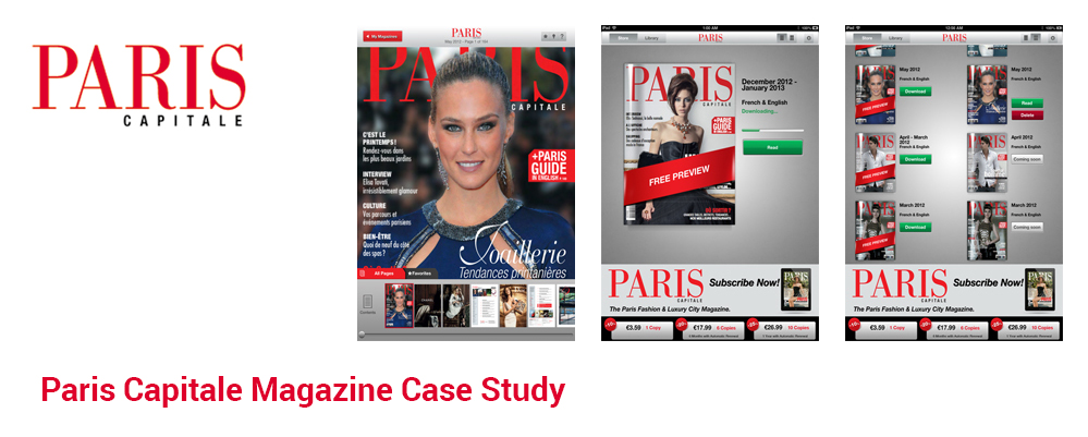 Paris Capitale Magazine Case Study